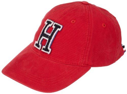 Tommy Hilfiger - Gorra para Hombre, Talla única, Color Rojo