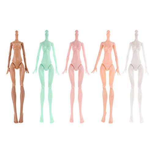 perfeclan 23cm Bewegliche Nackte Puppenkörper für Monster High Puppen