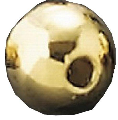ティムコ(TIEMCO) フライマテリアル TMCタングステンビーズプラス ミラー L 4.0mm ゴールド