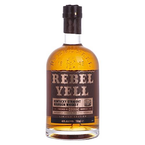 Rebel Yell Bourbon Whiskey Cognac Barrel Finish 45% - 700 ml