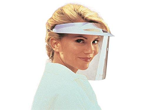 Caschetto Protector, con 3 visiere, protezione schizzi per dentisti e chirurghi