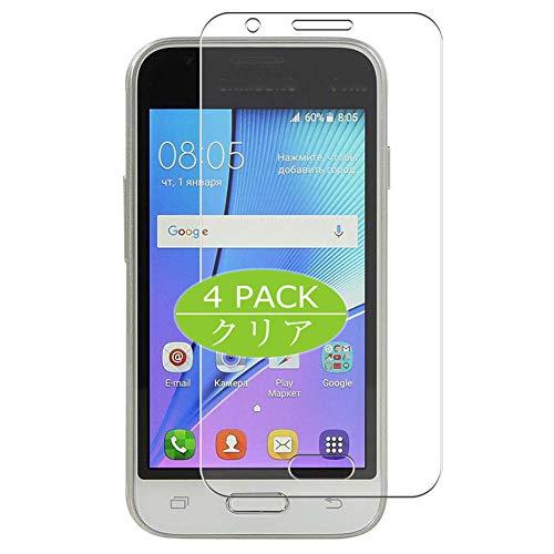 VacFun 4 Piezas HD Claro Protector de Pantalla Compatible con Samsung Galaxy J1 Mini / J1 Mini Prime SM-J105DS, Screen Protector Sin Burbujas Película Protectora (Not Cristal Templado) New Version