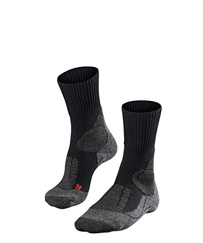 FALKE Herren TK1 Wandersocken TK1 M SO, 1er pack, Schwarz (Black-Mix 3010), 44-45