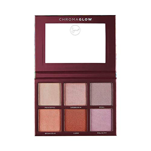 Sigma Beauty Chroma Glow Shimmer + Highlight Palette