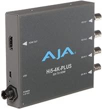 AJA HI5-4K-PLUS 4K/UltraHD SDI to HDMI 2.0 Mini Converter