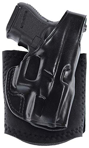 Galco Ankle Glove Holster for Glock 4 Right Hand Black AG800B