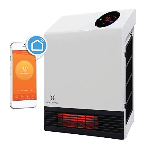 Heat Storm HS-1000-WX-WIFI WiFi Infrared Wall Heater, 1500 Watt
