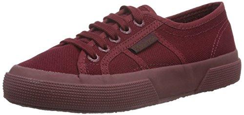 Superga Superga Unisex-Erwachsene Classic Sneaker Low-Top 2750 Cotu Classic, Rot (F52), 45 (Herstellergröße: 10.5)