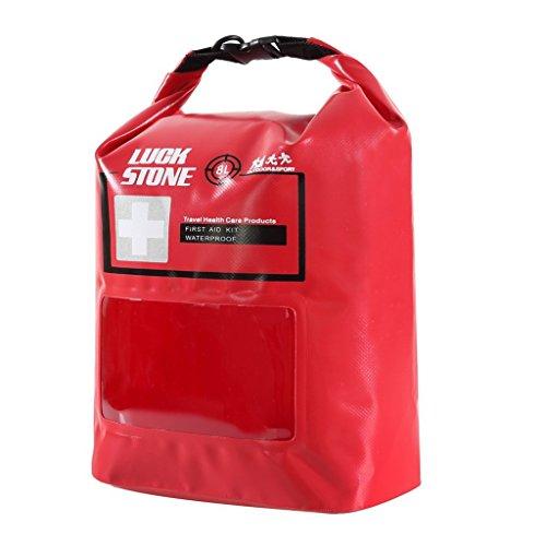 8L Erste Hilfe Kit Wasserdicht Tasche leer mit Reisetasche Freien Notfalltasche Dry Bag für Outdoor Camping Wandern Reisen Radsport Angeln Kajak Kanufahren Segeln Rafting