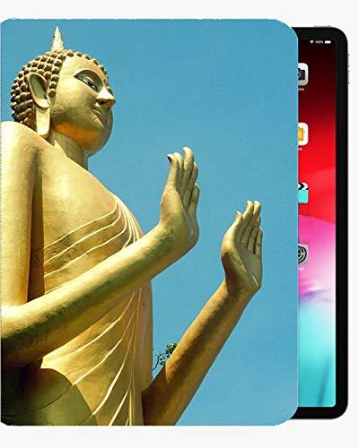 para iPad Air1 9.7 Pulgadas Funda de Caja, Caja de Concha Delgada de Casos, Honesto y Buda de Buda para iPad iPad Air1