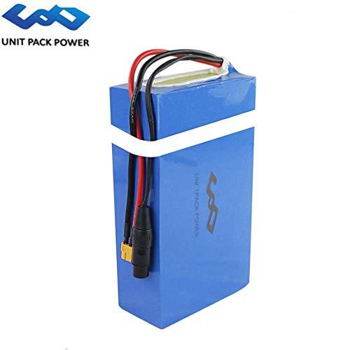Unit Pack Power Fahrrad Akku 36V - Lithium Ionen Batterie PVC für 500W/250W Ebike Elektro Scooter Motorrad Boot 10S8P 720Wh (36V 20Ah)