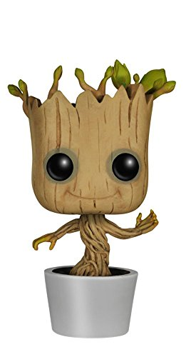 Funko POP! Marvel: Dancing Groot Bobble Action Figure,Multicolor,3.75 inches