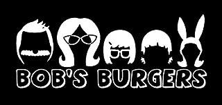 Makarios LLC Bobs Burgers Cars Trucks Vans Walls Laptop MKR| White |5.5 x2|MKR405