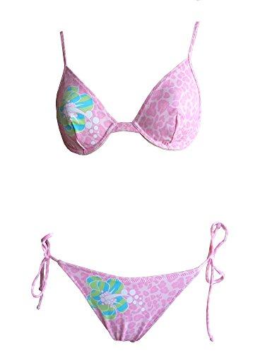 La Perla Oceano by Bügel-Bikini in rosa/rot mit Formbügel, Gr. 38 B-Cup