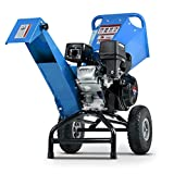 Landworks Wood Chipper Shredder Mulcher Heavy Duty Compact Rotor Assembly Design 3' Inch Max Capacity