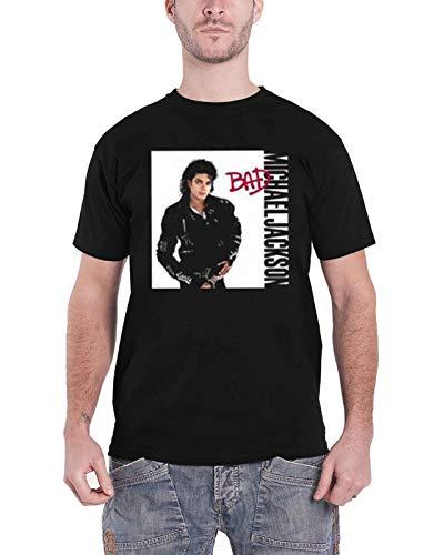 Michael Jackson T Shirt Bad Album Cover Logo Nouveau Officiel Homme Size S