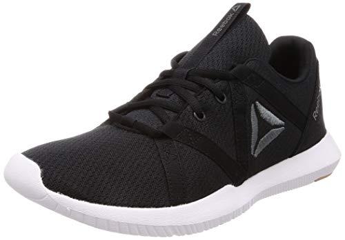 Reebok Herren Reago Essential Fitnessschuhe, Mehrfarbig (Black/Alloy/Field Tan/White 000), 43 EU