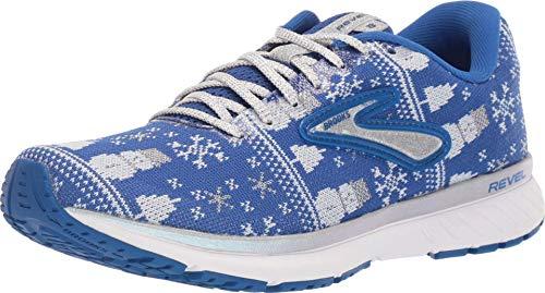 Brooks Revel 3 Blue/White/Silver 5 B (M)