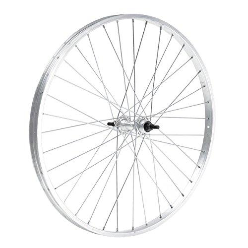 Cerchio ruota posteriore bici touring mtb 20 x1,75 alluminio mozzo acciaio 5/6 v