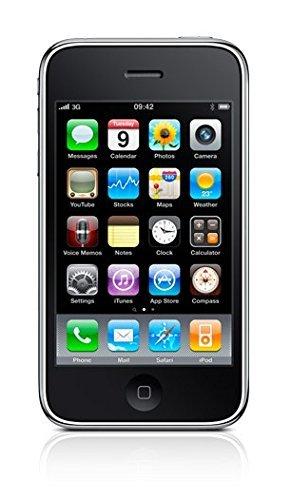 "Apple iPhone 3GS 8 GO Noir Smartphone débloqué 3.5"" iOS 6 WiFi GPS Photo (3GS 8 GO, Noir)"