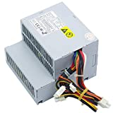 LXun 280W Power Supply Compatible with Dell OptiPlex GX520 GX620 740 745 755 210L 320 330/Dimension C521 3100C GX280 (P/N: MH595 MH596 NH429 NC912 RT490 P9550 U9087 X9072 JK930)