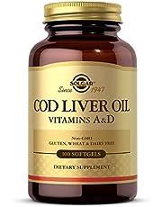 Solgar – Norwegian Cod Liver Oil (Vitamin & D Supplement) 100 Softgels