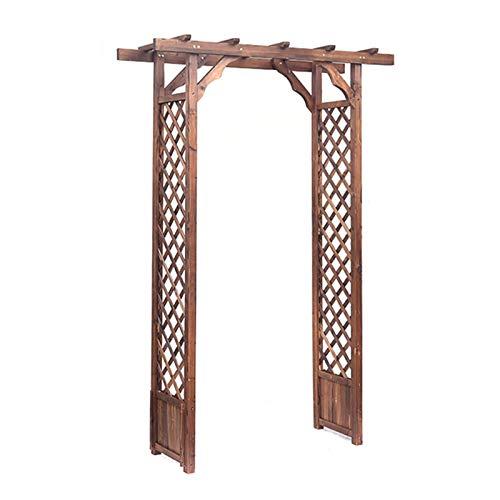 Garden Trellis Arch Wood, Garden Arbors and Arches, Rose Arch Garden - Durable Fir Wood Material, Garden Arbor for Various Climbing Plant