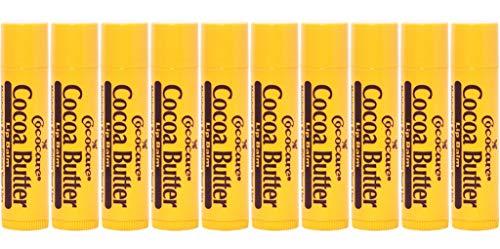 Cocoa Butter Lip Balm.15 oz, 10 Piece