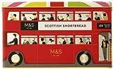 英国マークス&スペンサー スコティッシュ ショートブレッド セレクション ロンドンバス缶 500g Marks & Spencer Scottish Shortbread Selection in a London Bus Tin 500g