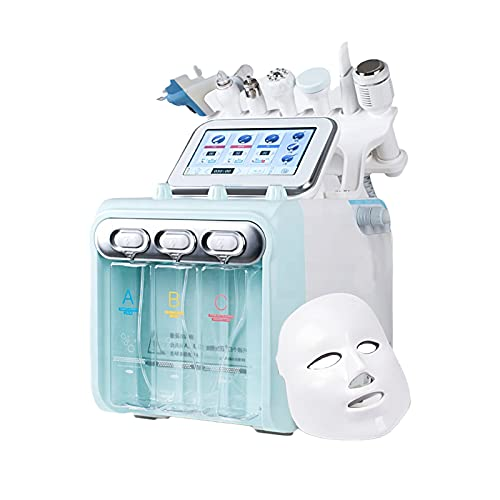 Multifunction skin care device 8 in 1 Small Bubble Beauty Machine Skin Tightening Care Massager (110V)