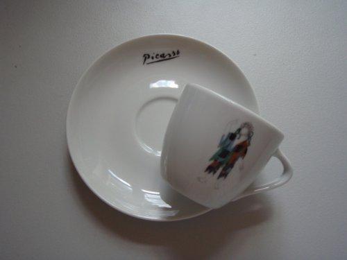 Picasso, Espressotasse, Porzellan, 5,5cm