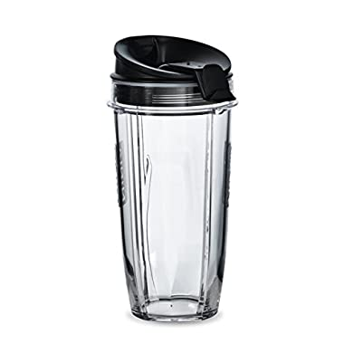 Two 24 oz. Tritan Nutri Ninja Cups with two Sip & Seal Lids (XSK2424)