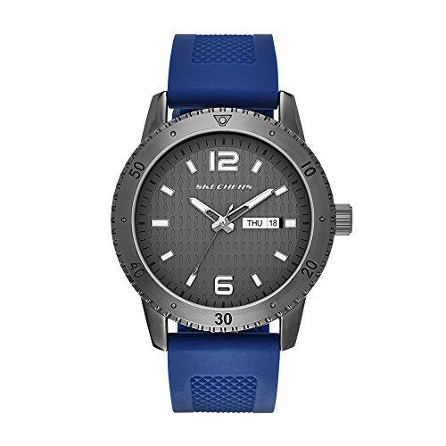 Reloj Skechers Men's Textured Dial Silicone para Hombres 48mm
