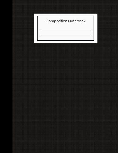 composition notebook: notebook 8.5  x11  size, 100 Pages , ruled , lined – for writing , Sketching , Journal, notes, school (abstract cover 2) 11