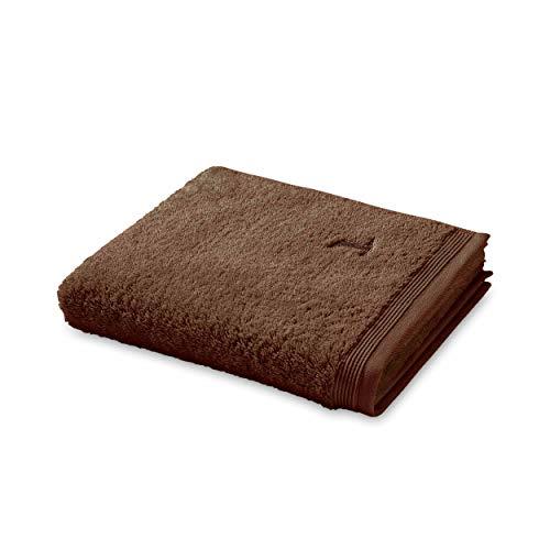 Möve Superwuschel handdoek, java bruin, 50 x 100 cm