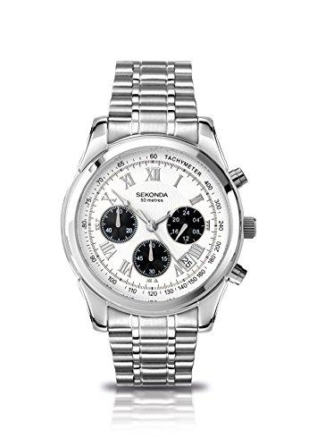 Sekonda Herren-Armbanduhr Chronograph Quarz 3417.71
