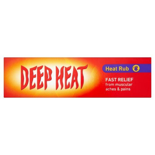 Deep Heat Heat Rub 67g - Fast Relief From Muscular Aches And Pains