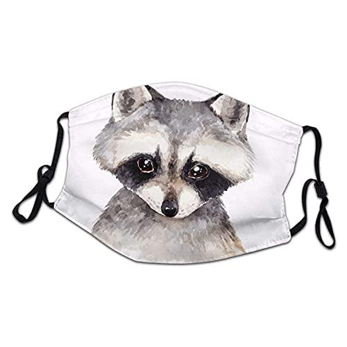 Cartoon-Panda-Gesichtsmaske, wiederverwendbar, waschbar, staubdicht, Geschenk für Kinder, Mädchen, Jungen