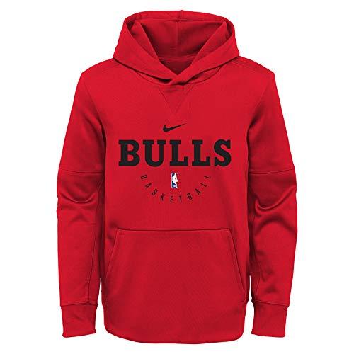 Nike NBA Youth (8-20) Spotlight Pullover Hoodie, Team Variation Chicago Bulls Large (14/16)