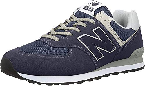 NEW BALANCE 574 Core, Zapatillas Unisex Adulto, Negro (Black Iris), 40.5 EU