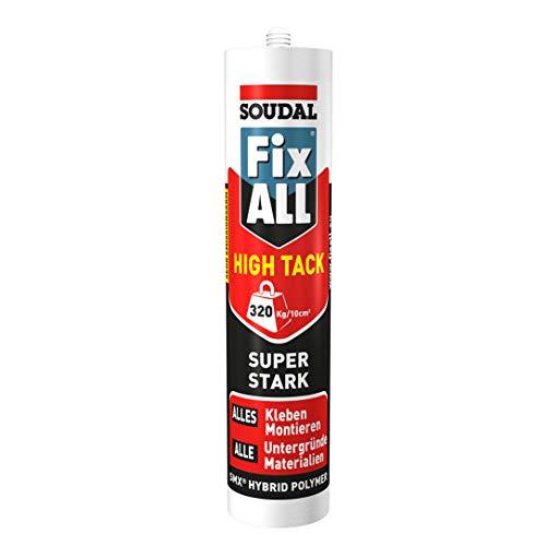 Soudal Montagekleber Fix ALL High Tack grau 420 g/290 ml