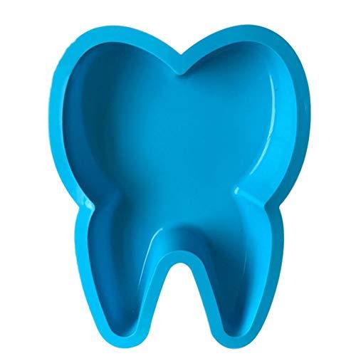 Baiansy Silikon-Backform, große Zähne