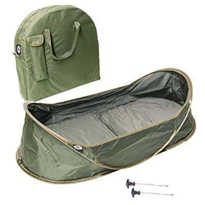 Ngt New Carp Fishing Pop-up Cradle Protective Unhooking Mat & Carry Case Pegging Points & Pegs Supplied Quick Put Up Cradle from NGT