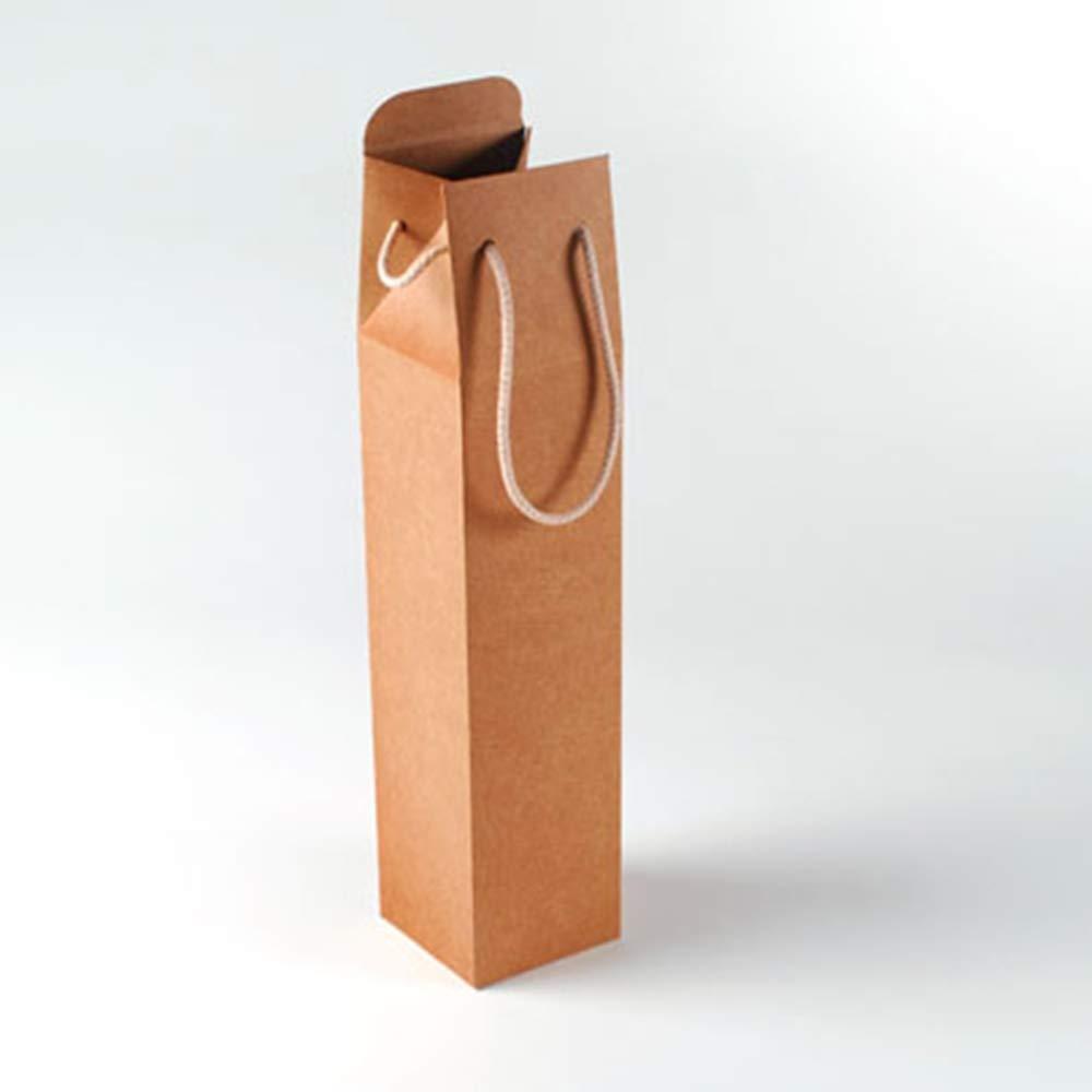 Selfpackaging Caja de cartón Regalo para una Botella. con Forma de ...