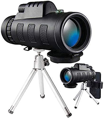 SuRose Catalejos de Gran Alcance, Monocular, telescopio monocular binoculares, monocular de Alta Potencia 40x60 con Adaptador para Smartphone