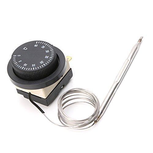 E-HONER 0-40 ℃ Temperaturregelschalter Kapillarthermostat Automatischer Sensorschalter