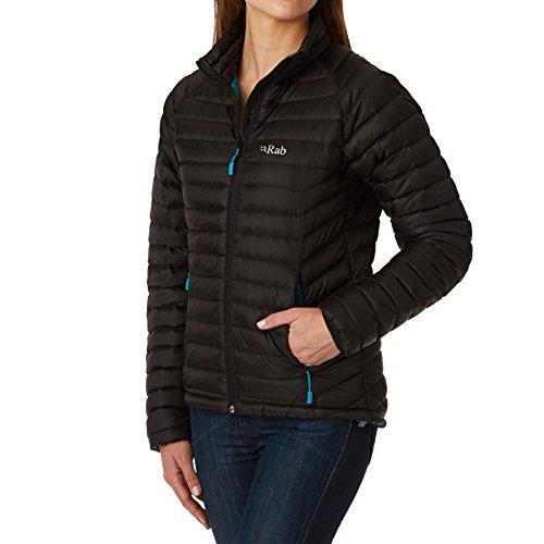 RAB Microlight Jacket - Women's Black/Tasman 10