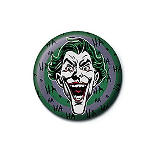 Pritties Accessories Echte DC Comics Joker HaHa Taste Abzeichen Stift Retro Gotham Batman