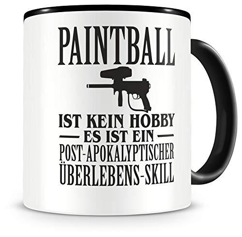 Samunshi® Paintball ist kein Hobby Tasse Kaffeetasse Teetasse Kaffeepott Kaffeebecher Becher