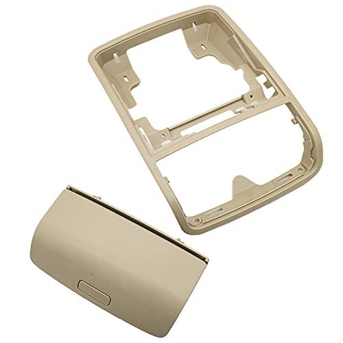 WSCLCP Soporte de Caja de Almacenamiento para Gafas de Sol para Techo de Coche, Apto para VW Golf MK5 MK6 Tiguan Jetta Passat B6, para Skoda Yeti Superb